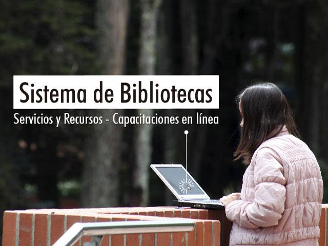 Sistema de Bibliotecas - Capacitaciones en línea