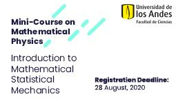 Mini Course Mathematical Physics